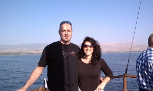 Trent and Kelli Sea of Galilee